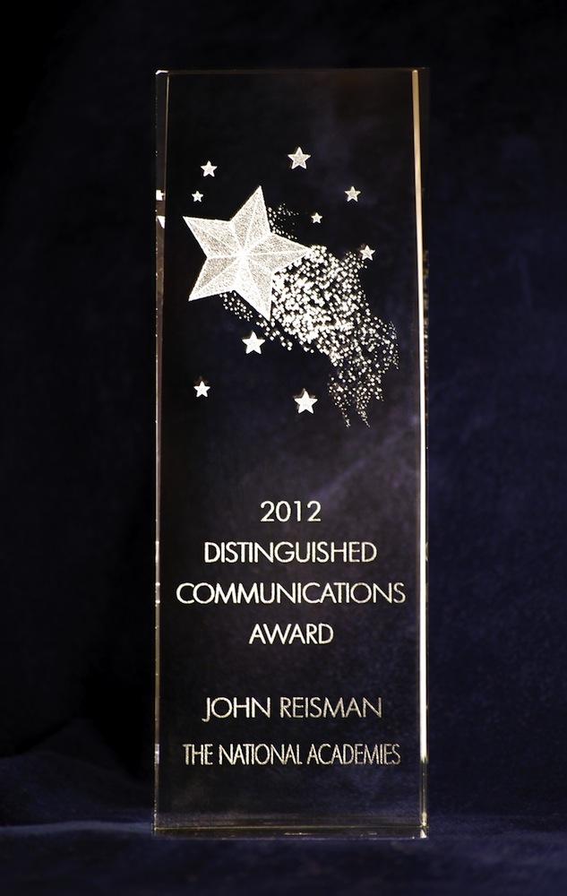 2012 Distinguished Communications Award